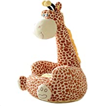 XSWZAQ Aurora World Giraffe Plush Toy Lazy Chair 45cm*53cm