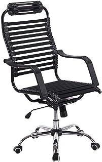 Sillón Las sillas de Escritorio, Silla de la computadora Silla ergonómica Silla de la Oficina del Juego de Alta Volver Transpirable Estiramiento de la Goma del Amortiguador de Gaza Silla Taburete