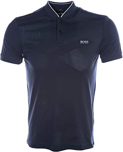 BOSS Pariq Polo Shirt in Navy