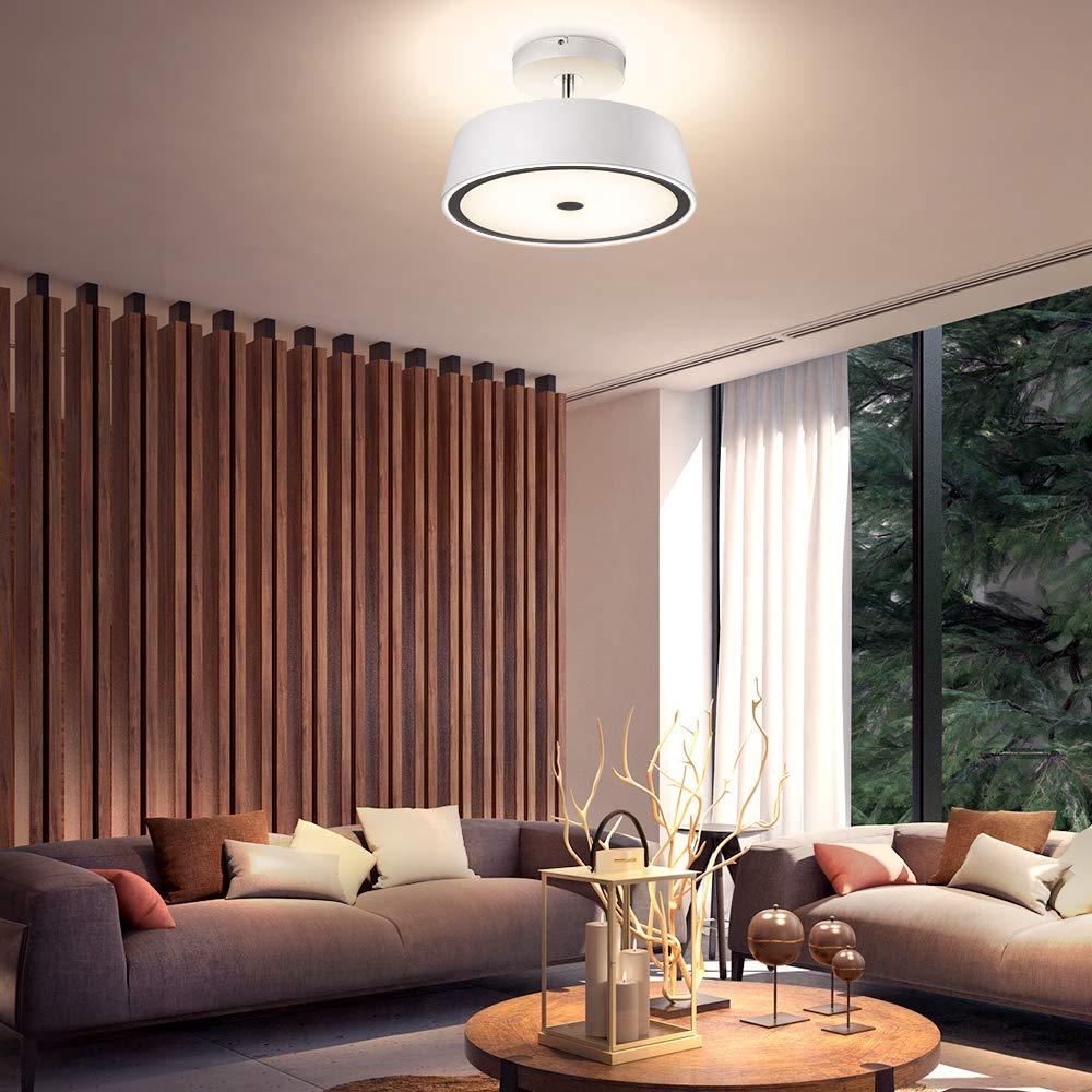 Paulmann 德国柏曼 简约现代卧室吸顶灯 家用高档书房客厅房间led照明灯具