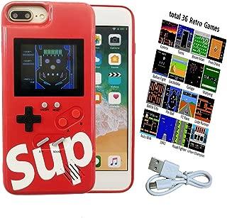 Tetris Video Game Case for iPhone 6P/6SP/7P/8P, for Kids/Children/Boys/Girls, 3D Retro iPhone 8 Plus Gameboy Case