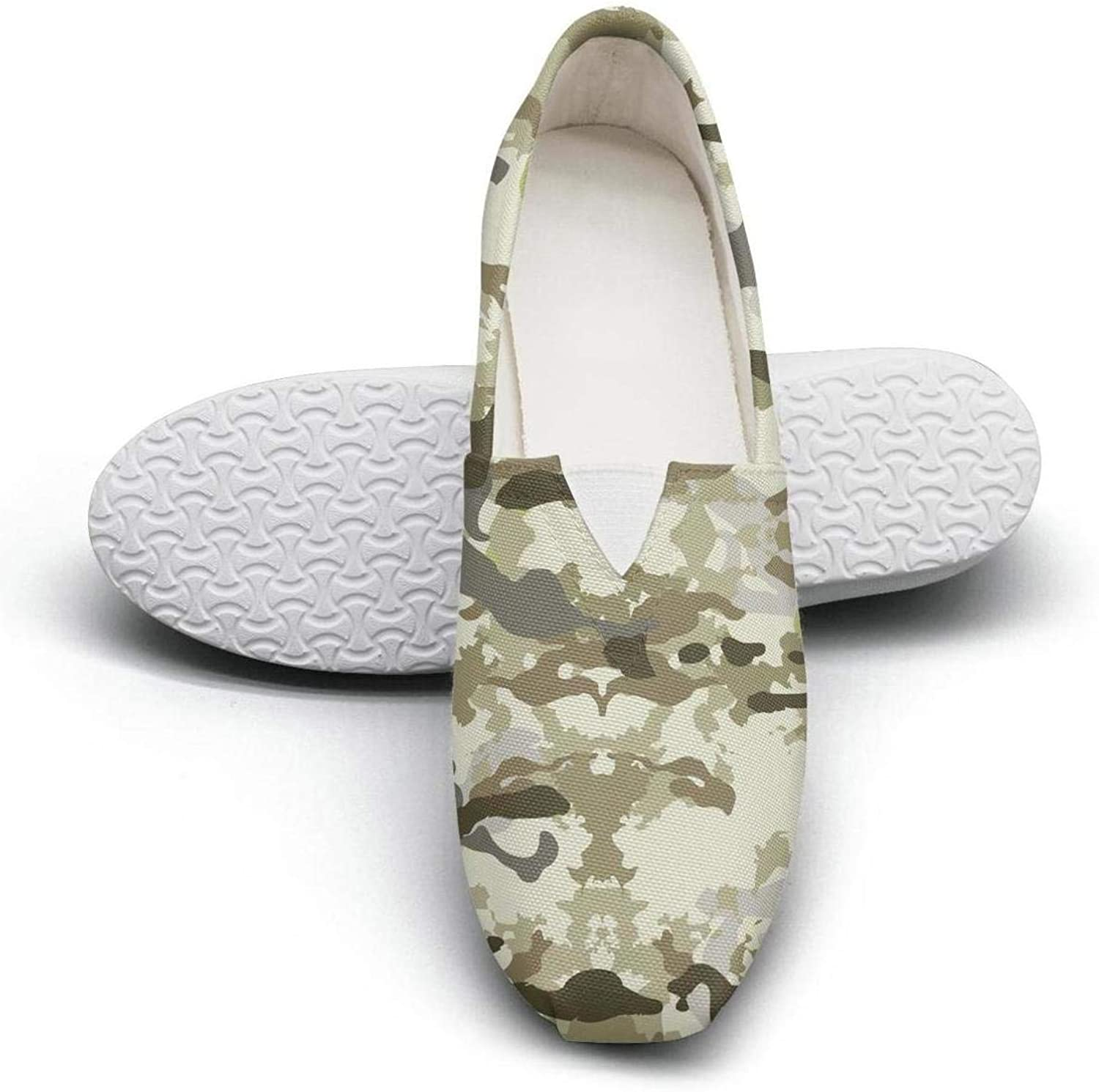 Women's Cotton Espadrille rainbow camouflage flash Casual shoes