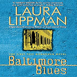 Baltimore Blues audiobook cover art
