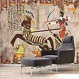 Fotomurales Antiguo Egipto Papel Pintado Fotográfico 200x150 cm Tipo Fleece no-trenzado Salón Dormitorio Despacho Pasillo Decoración murales de.
