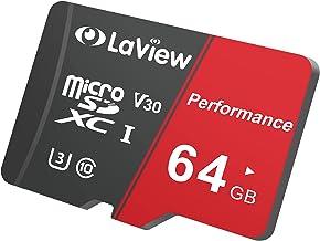 کارت حافظه Micro SD 64 گیگابایتی ، کارت حافظه Micro SDXC UHS-I - 95 مگابایت در ثانیه ، 633X ، U3 ، C10 ، فیلمبرداری Full HD V30 ، A1 ، FAT32 ، فلش با سرعت بالا TF کارت P500 برای تلفن / تبلت / کامپیوتر / رایانه با آداپتور