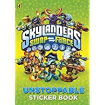 Skylanders SWAP Force: Unstoppable Sticker Activity Book