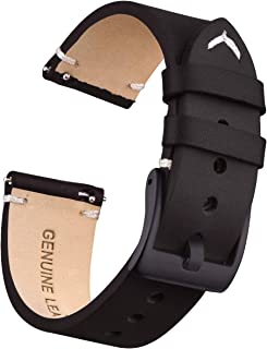 Ritche Genuine Leather Watch Bands 18mm 20mm 22mm Quick Release Leather Watch Straps Compatible with Seiko Watch for Men