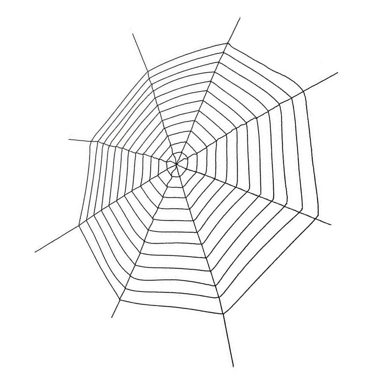 インレイ苗肥沃な蜘蛛の巣 ハロウィン 飾り クモの巣 ハロウィン 飾り付け 玄関 スパイダーウェブ 5m ブラック