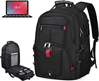 Laptop Backpack 18.4 Inch Waterproof Extra Large TSA Travel Backpack Anti Theft College School Business Mens Backpacks wit...