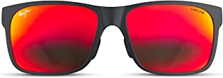 Maui Jim Red Sands Asian Fit Rectangular Sunglasses