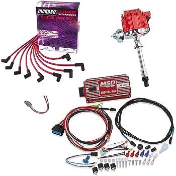 SBC//BBC HEI Distributor Kit w//MSD 5520 Street-Fire CDI Ignition