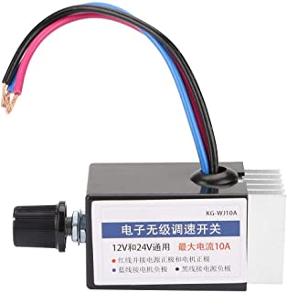 DC 12V/24V Universal Motor Speed Controller Switch for Car Truck Fan Heater Control