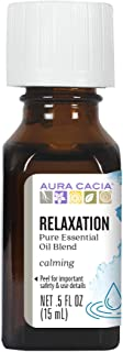 Aura Cacia Relaxation Essential Oil Blend | 0.5 fl. oz.