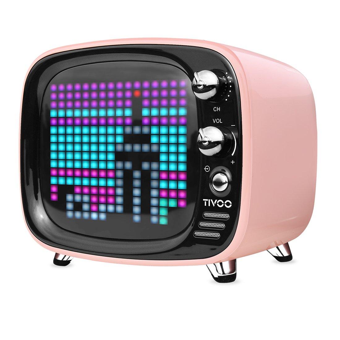 Divoom Tivoo - Altavoz portátil con Pantalla, Color Rosa: Amazon.es: Electrónica