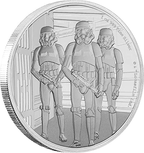 Power Coin Stormtrooper Star Wars Classic 1 Oz Silber Münze 2  Niue 2019