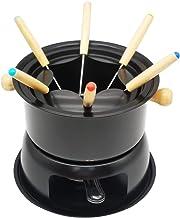 AADEE Mini roestvrijstalen pot met temperatuurregeling, van hete potkaas, geschikt voor elektrische werkbladen, smeltende ...