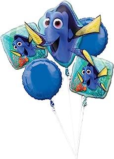 Anagram Disney Finding Dory Balloon Bouquet, 5 Balloons