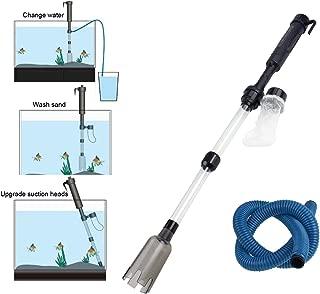 水交換ポンプ 水交換器 水槽 電動式 清掃ポンプ 掃除機 水替え クリーナーポンプ 水槽クリーナー 水族館用 水質浄化 コケ取り 汚れ取 水換え お掃除 水槽清掃パンプ 自由に組み立て 使いやすい アクアリウム用