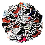 NOBRAND 60Pieces Of Retro Basketball Sneakers Tide Shoes Stickers Mobile Phone Laptop Luggage Skateboard Bicycle Stickers3~8Cm