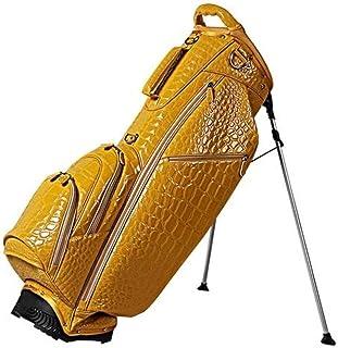 OUUL Alligator 5 Way Stand Bag, Lemon Yellow