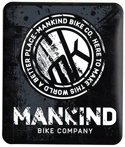 Mankind BMX Sticker - 18.5cm high approx. bmxing bikes cycles new pushbike new laptop guitar van surf