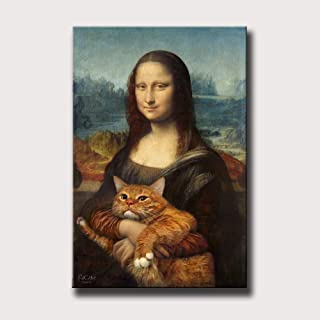 Best mona lisa cat painting Reviews