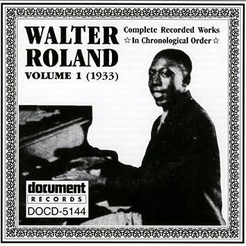 Walter Roland Vol. 1 (1933)