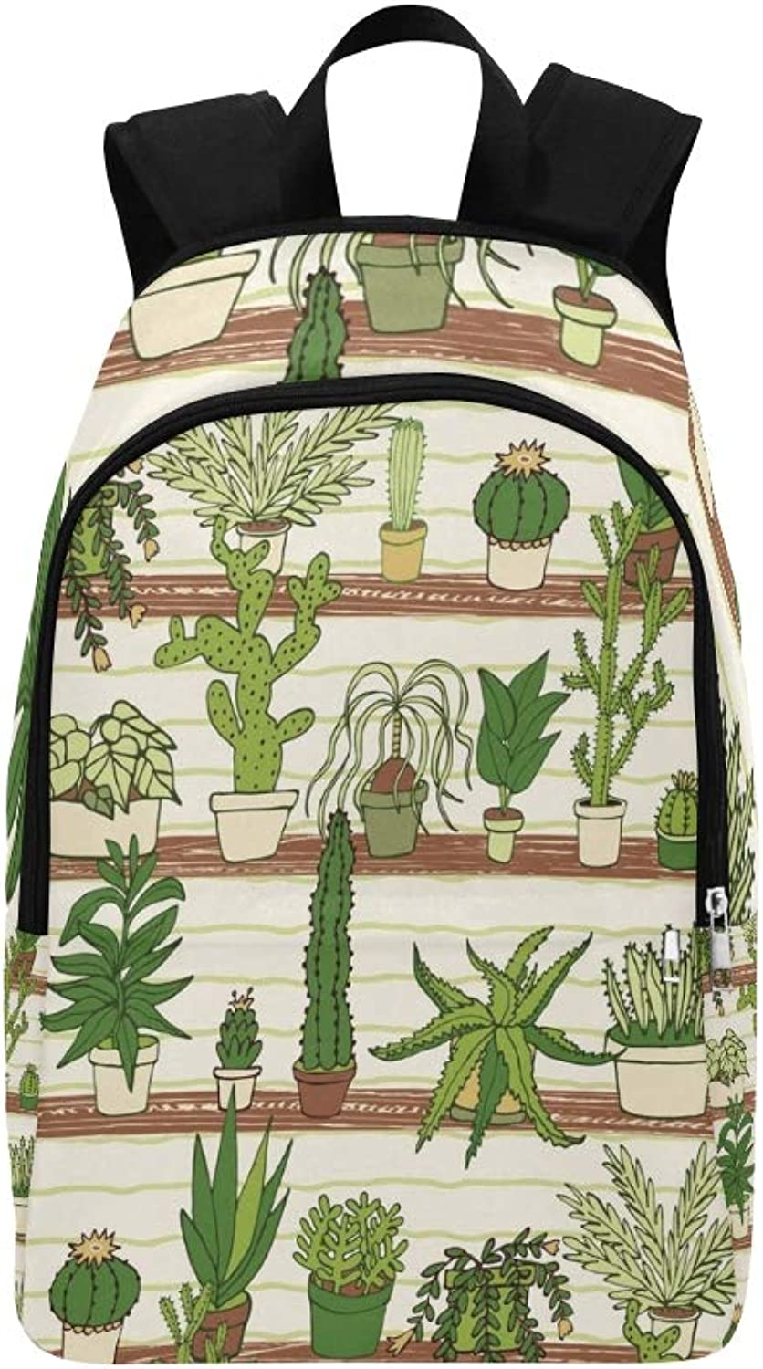 Cactus Casual Daypack Travel Bag College School Backpack for Mens and Women