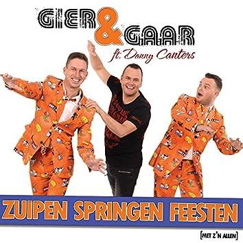 Zuipen Springen Feesten (Met Z'n Allen) [feat. Danny Canters]