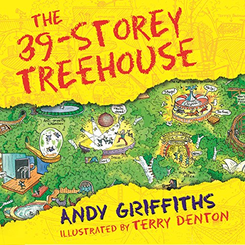 The 39-Storey Treehouse audiobook cover art