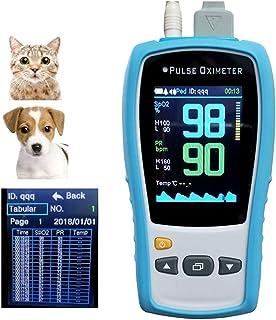 KQ OxíMetro Pulso Veterinario Animal Mascota Gato y Perro O