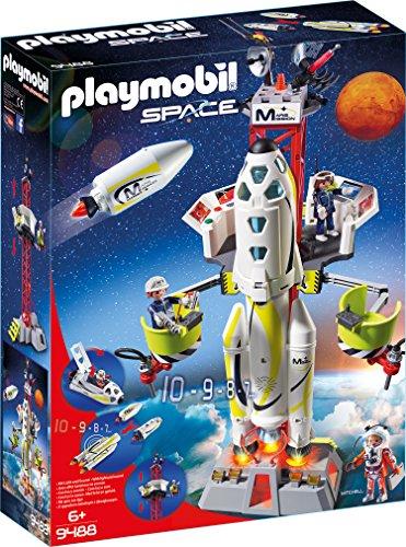 Playmobil Space 9488 Mars-Rakete mit Startrampe, Ab 6 Jahren