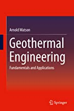 Best geothermal engineering fundamentals and applications Reviews