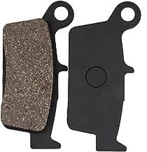 Cyleto Rear Brake Pads for Honda CR80 1992-2002 / CR85 2003-2007 / CR125 1987-2001 / CR250 1987-2001 / CR500 1987-2001