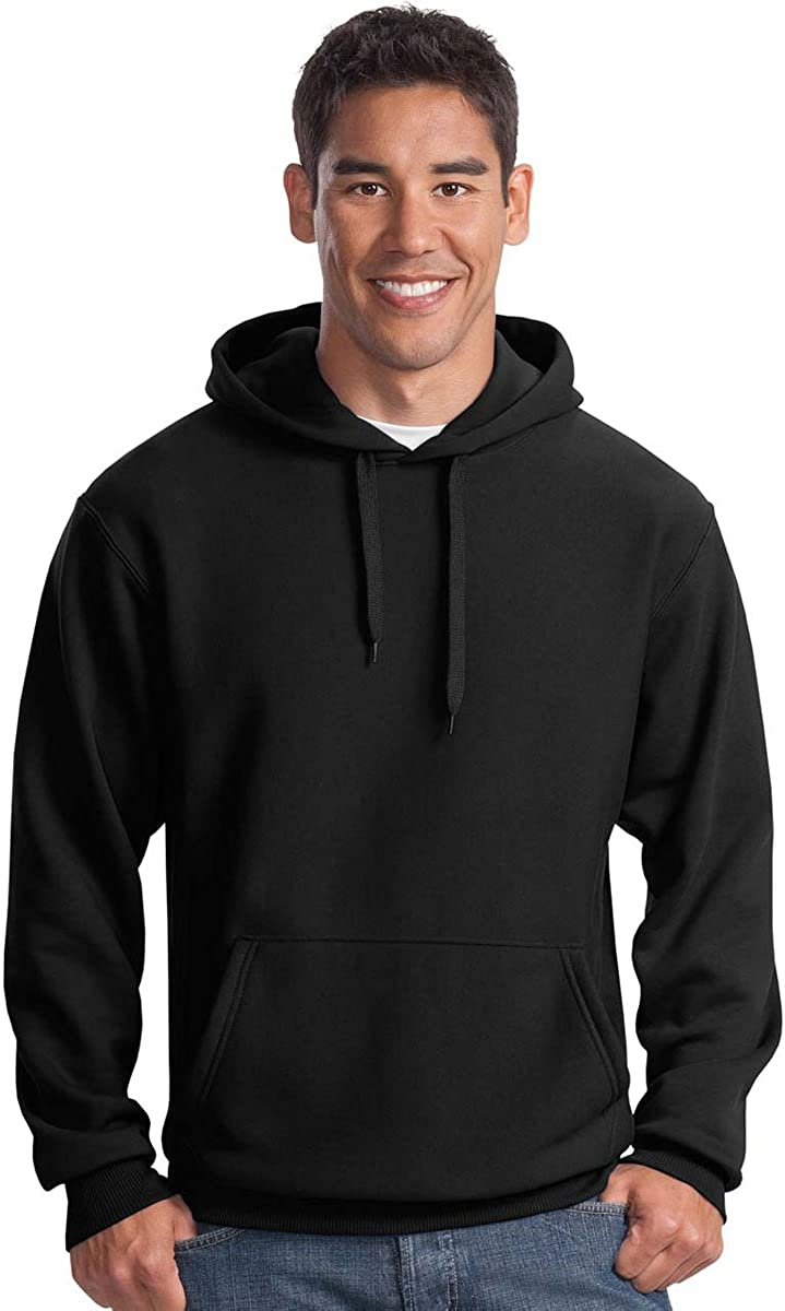 SPORT-TEK Men's Super Hooded Direct store Heavyweight Special Campaign Pullover