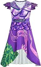 Descendientes 3 Veces Vestido de dragón para niñas Disfraces Conjuntos de Maquillaje Niños pequeños Onesies Disfraces de Fiesta de Halloween Horror Night