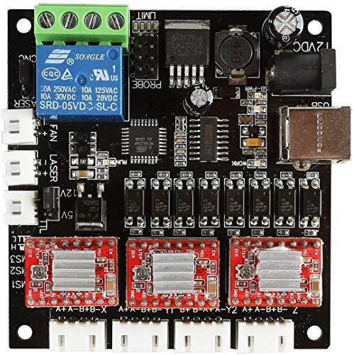 SainSmart 3-Achsen-GRBL-USB-Treiber-Controller-Board DIY-Graveur-Control-Board für GRBL