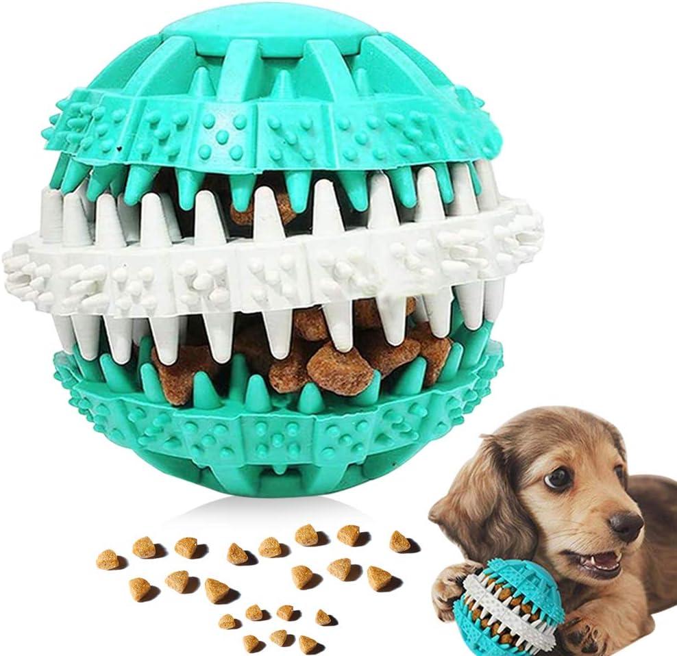 Juguetes para Perros, Pelota para Perros, Mascotas Pelotas de Juguetes, Bolas Juguetes Interactivos, Pelota de Juguete para Masticar, para la Limpieza de los Dientes de Perro