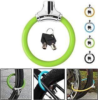 NDakter Bike Lock 12mm Anti Theft Kids Bicycle Lock, Lightweight Unbreakable Bike Wheel Locks Disc Lock Heavy Duty with 2 Keys for Road/Mountain/Commute Bike Gift for Child Kids