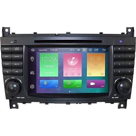 Hizpo Android 10 Auto Dvd Car Audio Stereo Für Mercedes Elektronik