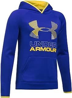 Under Armor Boys' Armour Fleece Solid Big Logo Hoodie