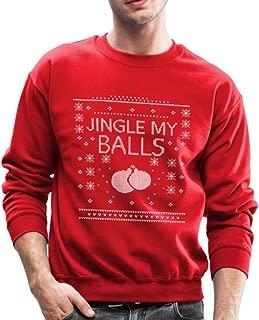 Jingle My Balls Ugly Christmas Crewneck Sweatshirt