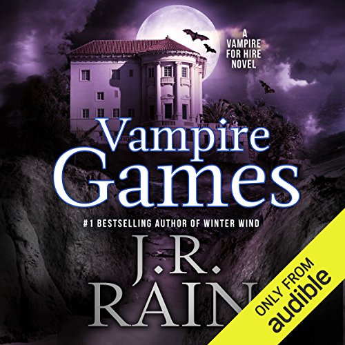 Vampire Games audiobook cover art