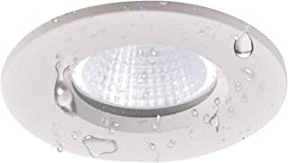 Obsess Dimmable Recessed Ceiling Down Light for Wet Location,with Junction Box,Specially Fixture Lighting for Bathroom, Shower Room, Kitchen-3 Inches-8W COB LED (3000k (Soft White Glow))