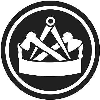 Aufkleber Zimmermann   Wappen (Wetterfest)