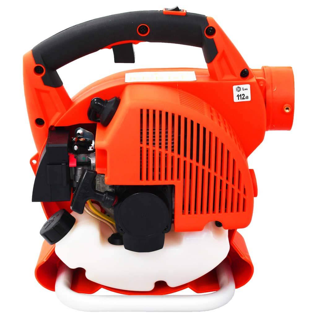 vidaXL Soplador de Hojas de Gasolina Herramienta para Jardín Máquina para Soplar Limpiar Exterior Patio Sopladora 3 en 1 26 CC Naranja: Amazon.es: Bricolaje y herramientas