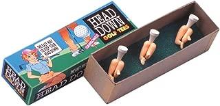 Loftus Heads Down Golf Tees - Golfer Gag Gift Idea