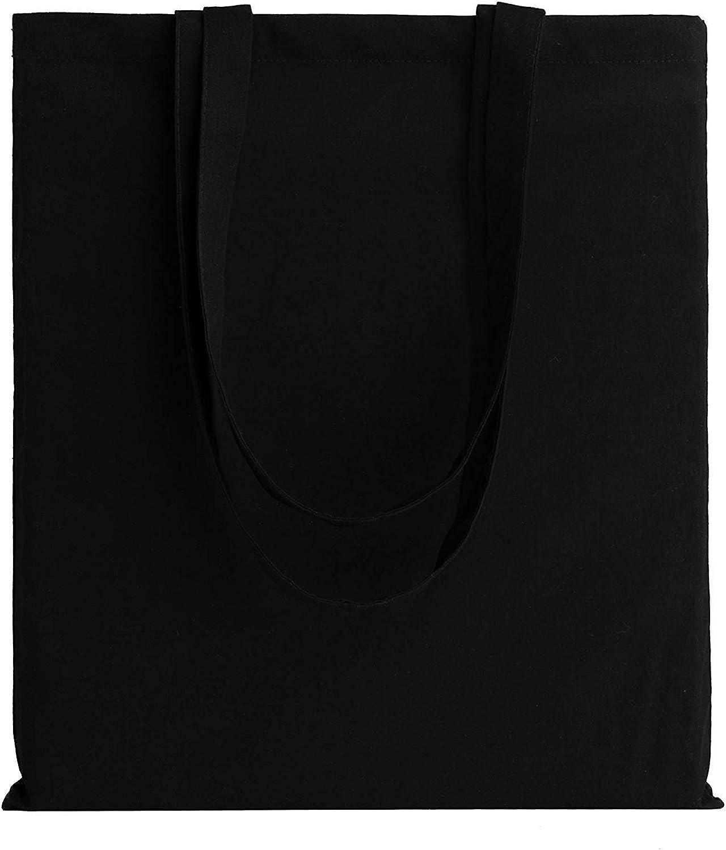 40x36 ideal para impresi/ón y bordado Bolsa de lona natural reutilizable tela color natural peso de la tela: 155 g Cm Medium 100 /% algod/ón IMFAA