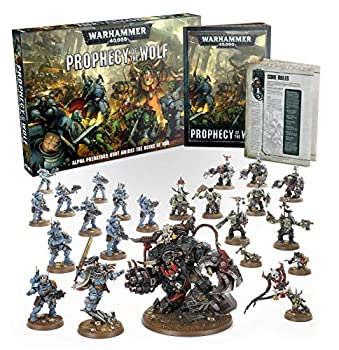 Games Workshop Warhammer 40,000 Prophecy of The Wolf Box Set
