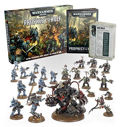Games Workshop Warhammer 40k: Profecy of The Wolf Box Set